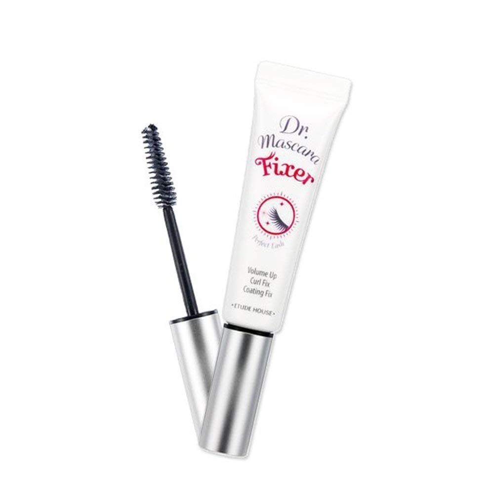 ETUDE HOUSE Dr. Mascara Fixer For Perfect Lash 01 (Natural Volume up)   Long-Lasting Smudge-Proof Mascara Fixer with Care Effect   Korean Makeup : Clinique Eyelash Primer : Beauty