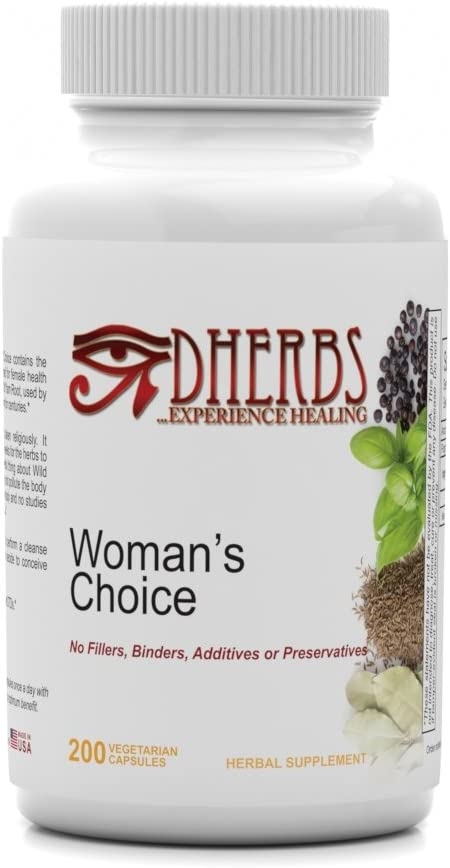 Dherbs Woman s Choice, 100-Count Bottle
