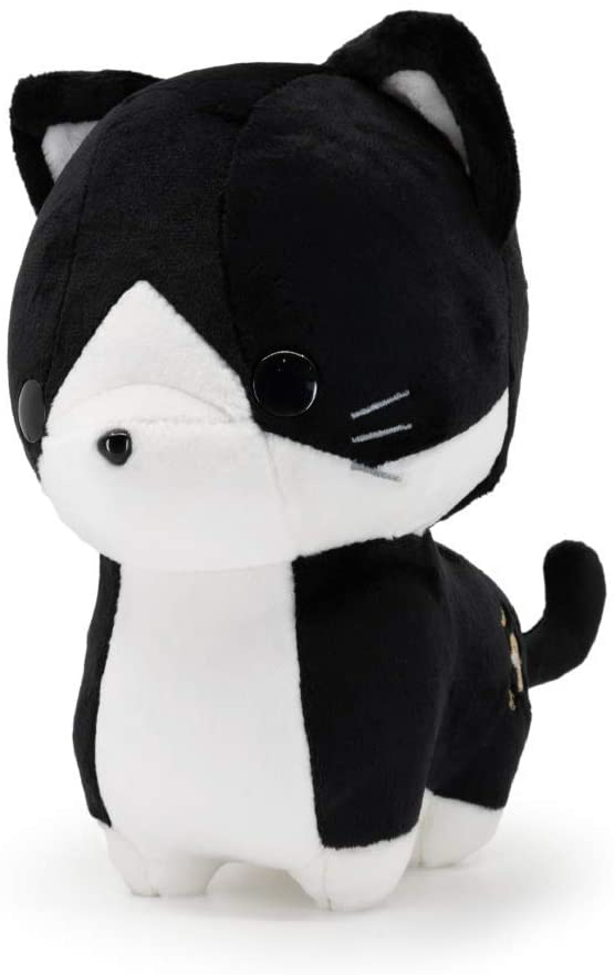 Bellzi Tuxedo Cat Cute Stuffed Animal Plush Toy - Adorable Soft Black and White Cat Toy Plushies and Gifts - Perfect Present for Kids, Babies, Toddlers - Tuxi