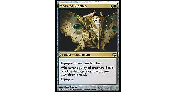 Mask of Riddles 1x Foil Magic the Gathering MTG Alara Reborn