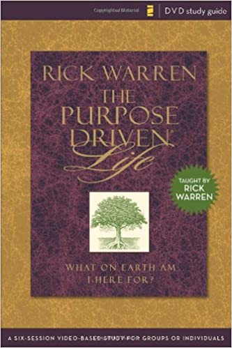9780310278665: purpose driven® life dvd study guide: a six-session.