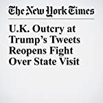 U.K. Outcry at Trump's Tweets Reopens Fight Over State Visit | Stephen Castle