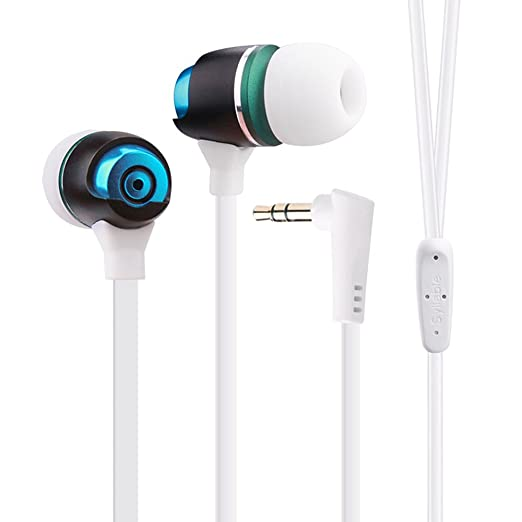 93a5d955db0 Wired Headphones, SYLLABLE G02S In-ear Earphone for Smartphone Computer Mp3  Mp4 Sport Wired Headset 3.5mm Jack Line-in Headset