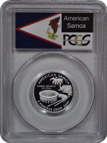 2009 S American Samoa Silver Quarter DCAM PCGS - Quarters Silver American