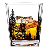 Best Man Whisky Glasses - Boravis Whiskey Glasses - Landscape Set of 2 Review