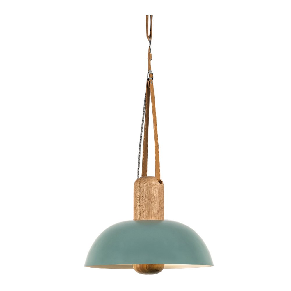 MGCHD Chandelier, Nordic Creative personality modern Simple Single head Bar / dining room/ dining table/ Lamps, 40 120cm A+ ( Color : Blue )