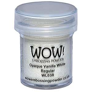 Wow Embossing Powder WOW! Embossing Powder, 15ml, Opaque Vanilla White