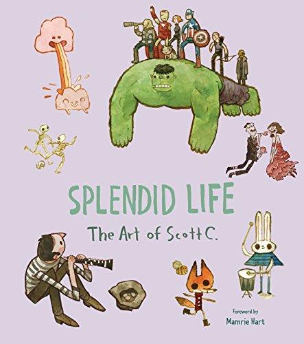 Splendid Life The Art of Scott C. [Campbell, Scott] (Tapa Dura)