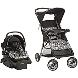 Cosco Lift & Stroll Travel System - Car Seat and Stroller – Suitable for Children Between 4 and 22 pounds, Zahari