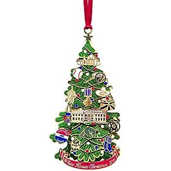 2015 White House Christmas Ornament - Amazon.com: 2015 White House Christmas Ornament: Home & Kitchen