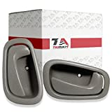 99 chevy door handle - 1998-2002 Toyota Corolla and Chevy Prizm Interior Front or Rear Gray Door Handle Pair Driver and Passenger Sides Left & Right Side T1A 69206-02050-GRAY 69205-02050-GRAY