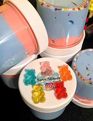 Squishy Handmade Slime Soft Charm /& Sprinkles *SCENTED* Cute 4oz GUMMY BEAR Butter Slime