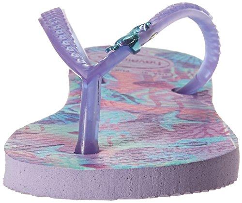 Havaianas Kids Slim Summer Sandal, Lavender 23/24 BR/Toddler (9 M US) - Image 4