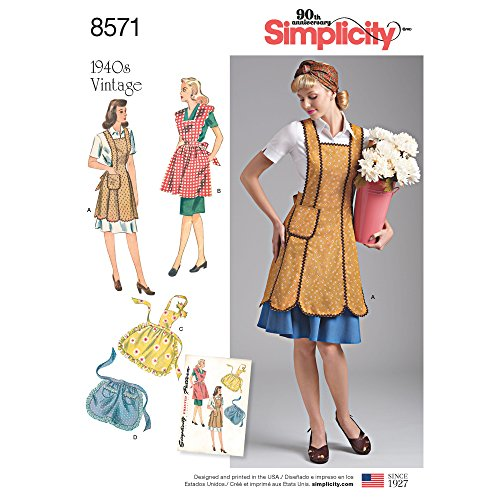 Simplicity Vintage Crafts, A (A (S-M-L)