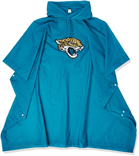 The Northwest Company Officially Licensed NFL Jacksonville Jaguars Deluxe Poncho
