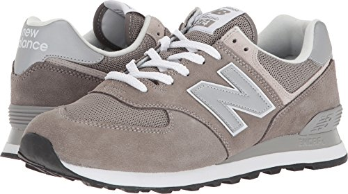 New Balance Men's Iconic 574 Sneaker, Grey, 8.5 D US
