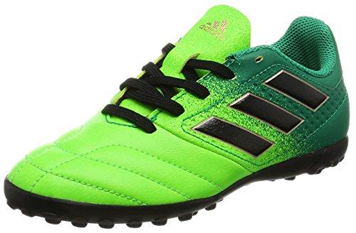 Adidas Unisex-Kinder Ace 17.4 Tf J für Fußballtrainingsschuhe, Grün (Versol/Negbas/Verbas), 36 EU