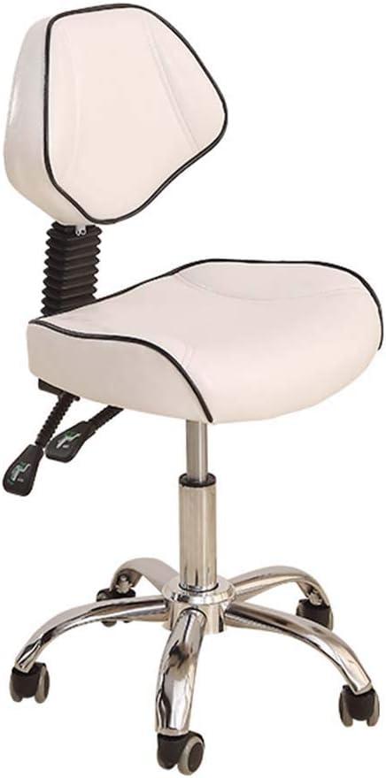 Sella da Massaggio Poltrona Girevole Girevole Regolabile A Gas Idraulico Sgabello Ergonomico per Parrucchiere Manicure Terapia del Tatuaggio Salone di Bellezza