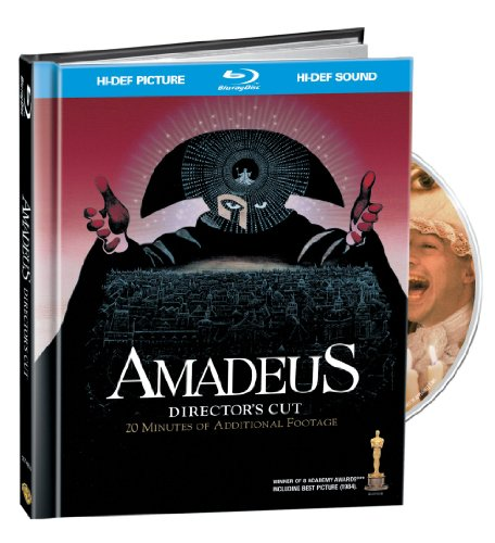 Neville Marriner - Amadeus [Widescreen] [With CD] [Digibook] [Digital Copy] (With CD, Widescreen, Special Packaging, Digital Copy, 2PC)