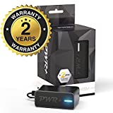 [UL Listed] Pwr+ Extra Long 6.5 Ft AC Adapter 2.1A Rapid Charger for Fast Charging Hd, Hdx 6 7 8.9 9.7 Tablet and Phone, Tab Power Supply Cord