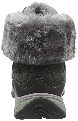 Hi-Tec Equilibrio Bellini Snug Waterproof, Zapatos de High Rise Senderismo para Mujer Gris (Cool Grey/Voilet 051)
