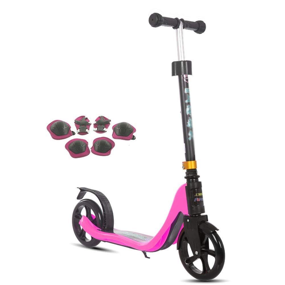 名作 スクーターを蹴る子供たち ピンク ジュニアスクーター B07R59JTPK、キックスクーター、子供用スクーター (色 オレンジ) : オレンジ) B07R59JTPK ピンク ピンク, 生活便利雑貨店:ec13ad7b --- 4x4.lt