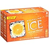 Sparkling Ice Orange Mango Sparkling Water, 8 fl oz, 8 pack