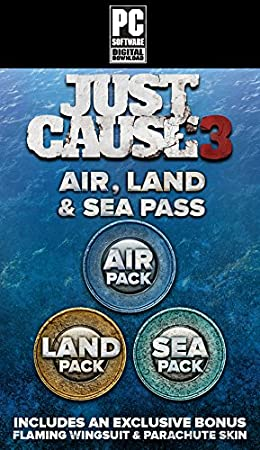 Just Cause 3 - Land, Sea, Air Expansion Pass [Download Code]