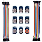 Kuman K24 Sensor Kits Mq2 Mq3 Mq4 Mq5 Mq6 Mq7 Mq8 Mq9 Mq135 Kit Diy for Arduino with Jumper Cables