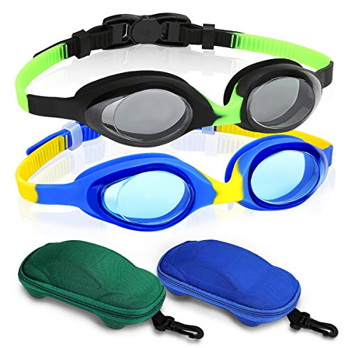 Kids Swimming Goggles Pack