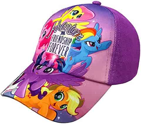 competitive price c0e3b a932b Hasbro My Little Pony Family Purple Baseball Cap – Size Girls 4-7  6014