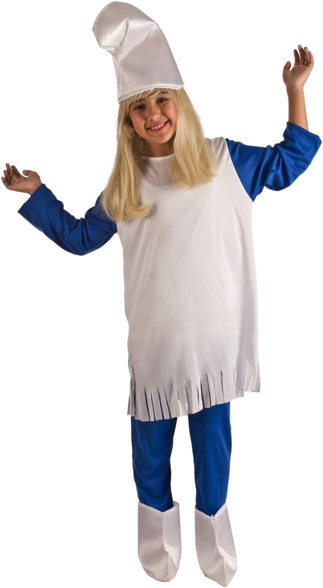 Disfraz de Duende Azul Patucos para niña: Amazon.es: Juguetes y juegos