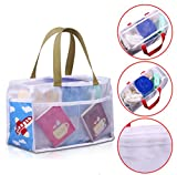 Ecokaki(TM) Baby Diaper Insert Organizer Storage Bag Multifunction Mommy Bag Diaper Tote Baby Bag, Aircraft
