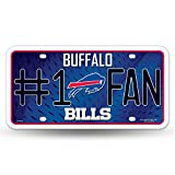 NFL Number One Fan License Plates