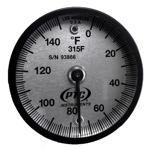 PTC 315F Magnetic Surface Thermometer 0° to 150°F by PTC Instruments