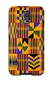 S5 Scratch-proof Protection Case Cover For Galaxy/ Hot African Art Phone Case