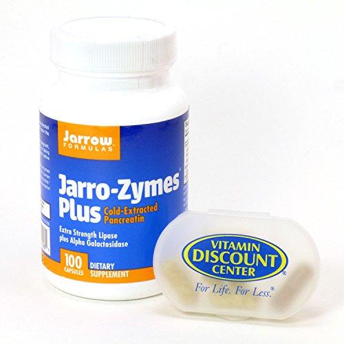 Bundle Bottle Jarro Zymes Jarrow Capsules