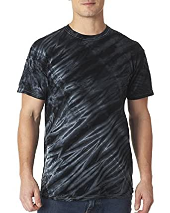 Tiger Stripe T-Shirt, Color: Black, Size: Large