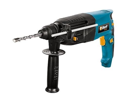LUX-TOOLS BHA-800 Bohrhammer mit SDS Plus Aufnahme /& Tiefenanschlag inkl 230V 800W Mei/ßelhammer mit 2,8 Joule Schlagst/ärke /& regelbarer Drehzahl bis 1200//min Umdr. Koffer