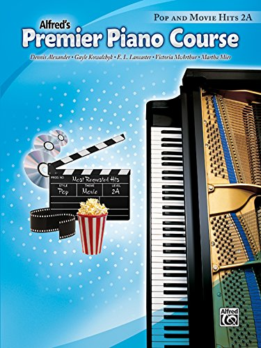 Premier Piano Course Pop and Movie Hits, Bk 2A Course Pop