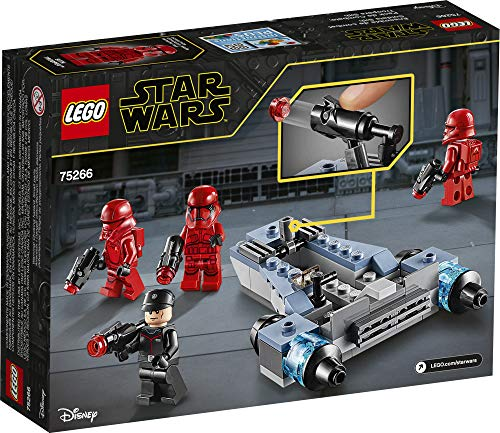 LEGO Star Wars Sith Troopers Battle Pack 75266 Stormtrooper Speeder Vehicle Building Kit, New 2020 (105 Pieces)