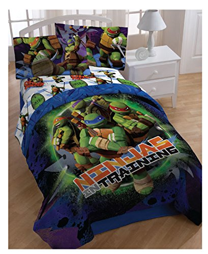 Nickelodeon Teenage Mutant Ninja Turtles Reversible Comforter Set