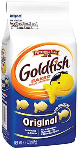 (Pepperidge Farm, Goldfish, Crackers, Original, 6.6 oz., Bag, 24-count)