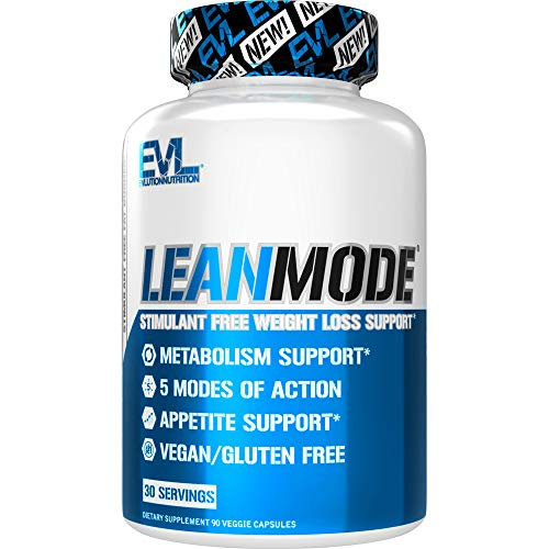 Evlution Nutrition Lean Mode – Complete Stimulant-Free Weight Loss Support and Diet System with Green Coffee, Carnitine…