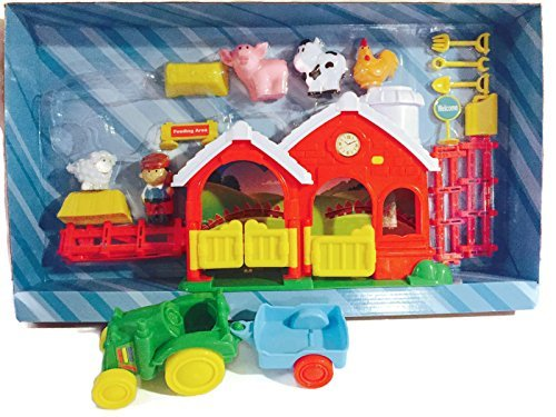 (Deluxe Farm Play Set with Music and Animal)