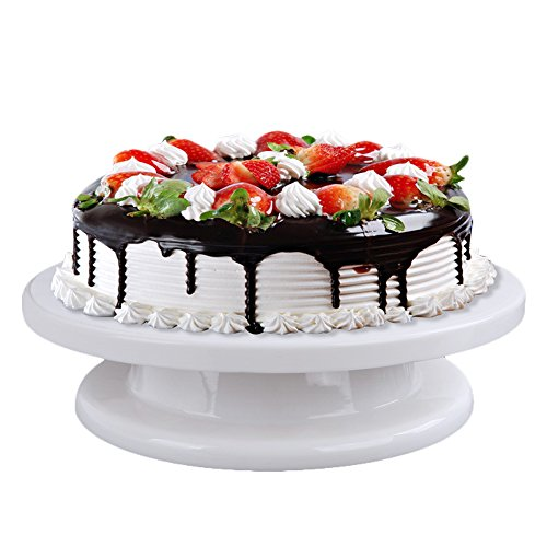 BLENDX Turntable Rotating Cake Stand Decorating Platform ...
