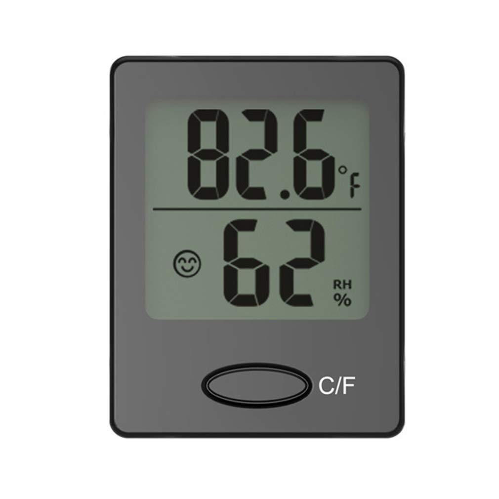 Präzision Elektronische Nummer Anzeige Thermometer Haushalt Innen Automatische Messung Thermometer Hygrometer 0-50 (° C) junkai Network technology Ltd