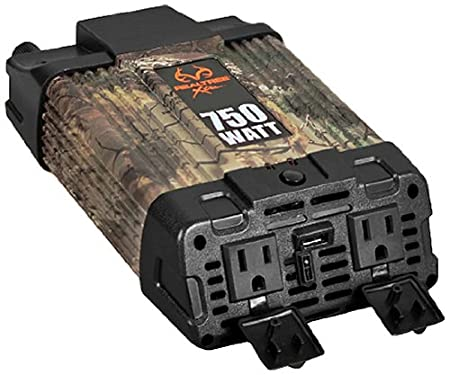 Realtree Xtra (10011) 120W Direct Plug-In Inverter Custom Accessories