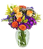 #4: Bright Blossoms Bouquet with Free Vase Included