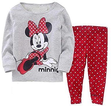 f304a75dc Children Disney Mickey Mouse Cartoon Girls Kids Clothing Pajama ...